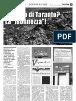 TarantOggi 28-11-2009 Dossier Rifiuti