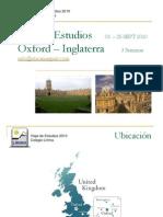 Gira de Estudio Oxford