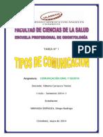 Actividad N° 01 Comunicacion