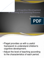 Implications of Cognitive Development in PNP Process
