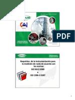 Requisitos de La Instrumentacion Para La Medicion de Ruido - Edwin Aizpurua