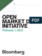 Bloomberg Open Market Data Whitepaper