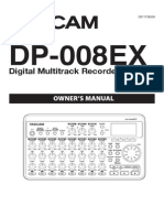 Tascam DP-008EX Owner's Manual