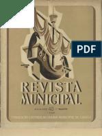 """Esta Palavra """"Lisboa"""", artigo da Revista Municipal de 1949"""