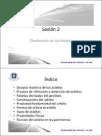 b. Sesion 2 - Clasificacion de Los Asfaltos