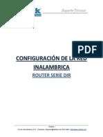 Configuracion de Red Inalambrica Router Serie DIR