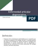 Enfermedad Articular Degenerativa