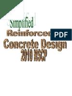 Simplified Reinforced Concrete Design 2010 NSCP