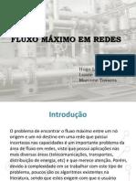 Fluxo Maximo Redes
