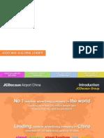 jcdecaux airport - beijing chengdu chongqing shenyang - introduction print