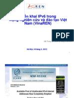 IPv6event2013-Vinaren-TrienKhaiIPv6TrongMangNghienCuuVaDaoTaoVietNam