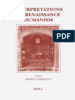 Mazzocco - Interpretations of Renaissance Humanism 2006