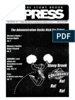 The Stony Brook Press - Volume 20, Issue 12