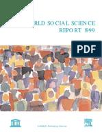 Unesco 1999 Report With Wallerstein Article in It