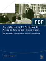 Advisory Intro Brochure-Spanish