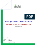 20130529 Tai Lieu Huong Dan Cau Hinh Dich Vu Leased Line