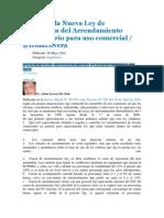 Claves de la Nueva Ley de Regulación del Arrendamiento Inmobiliario para uso comercial.docx
