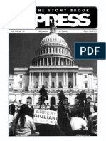 The Stony Brook Press - Volume 20, Issue 13