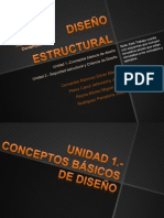 Diseño Estructural  Conceptos y seguridad estructural