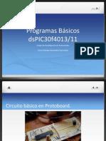 Presentaci Ejemplos Basicos Dspic