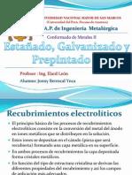 RECUBRIMIENTO ELECTROLITICO