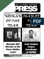 The Stony Brook Press - Volume 20, Issue 15