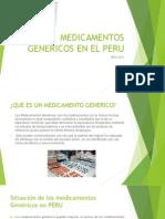 Medicamentos Genericos en El Peru
