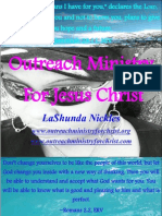 Outreach Ministry For Jesus Christ ~ Volume Two