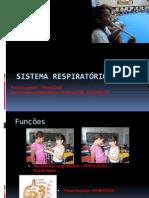 Sistema Respiratório - 8º Ano