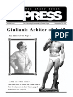 The Stony Brook Press - Volume 21, Issue 2