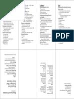 Biopsychosocial Formulation Pocketmod