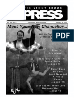 The Stony Brook Press - Volume 21, Issue 8