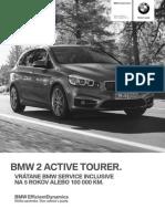 BMW 2 Active Tourer - Cenník Júl 2014
