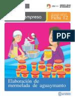 (305359865) Ficha Extendida 12 Elaboracion de Mermelada de Aguaymanto