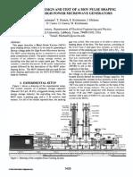 Simulation, Design and Test of  varistor.