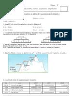 Nombres relatifs, simplification