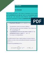 1.4 Distribución Binomial