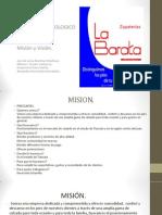 Mision y Vision Zapateria