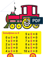 Tren Tabla Inmultirii