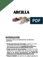 Clase Arcilla