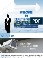 Top provider of security services in events