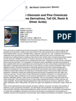 Niir Handbook on Oleoresin Pine Chemicals Rosin Terpene Derivatives Tall Oil Resin Dimer Acids