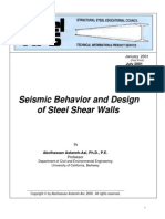 Steel Shear Wall Design