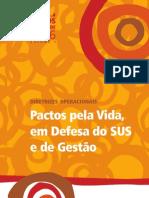 PACTO PELA VIDA EM DEFESA DO SUS E DE GESTÃO