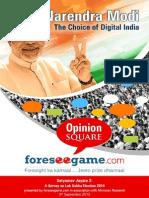 Narendra Modi - The Choice of Digital India