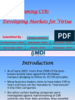 Group 6_Mainstreaming CSR