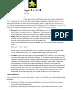 Belajar Framework Laravel