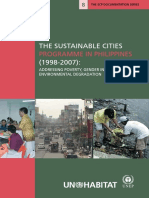 The Sustainable Cities Programme in the Philippines ((1998-2007) - A Compendium of Good Practices