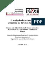 El Arraigo Hecho en Mexico Violacion a Los Derechos Humanos