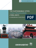 The Sustainable Cities China Programme (1996-2007)